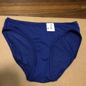 Women's Blue Panties Auden Panties Size M